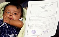Online Birth Registration in Bangladesh